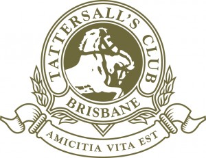 Tattersalls 150 years logo PMS 872